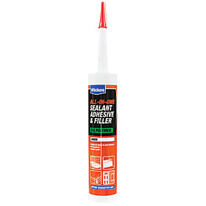 Wickes All in One Sealant Adhesive & Filler 290ml