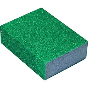 Wickes Flexible Sanding Sponge Medium/Coarse