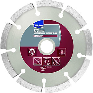 Wickes Mortar Raking Diamond Blade 115mm