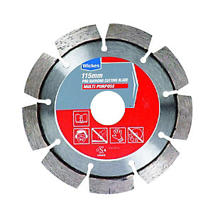 Wickes Pro Diamond Cutting Blade Multi-Purpose 115mm