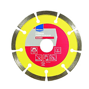Wickes Diamond Cutting Blade 115mm