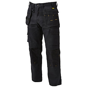 DeWalt Pro Tradesman Black Work Trouser 40W 29L