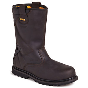 DeWalt Brown Rigger Safety Rigger Boot Size 11