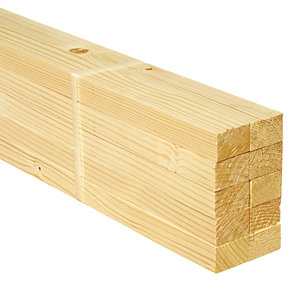 Wickes Whitewood PSE 18x28x1800mm Pack 10