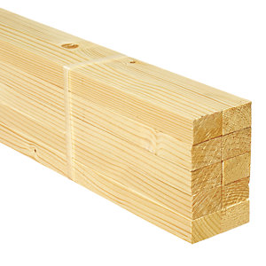 Wickes Whitewood PSE 18x28x2400mm Pack 10
