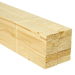 Wickes Whitewood PSE 18x44x1800mm Pack 10