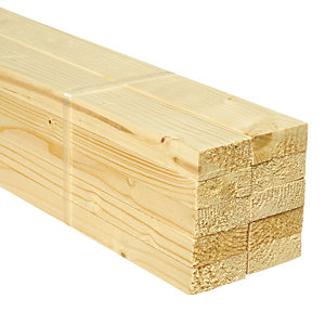Wickes Whitewood PSE 18x44x2400mm Pack 10