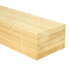 Wickes Whitewood PSE 18x144x1800mm Pack 5