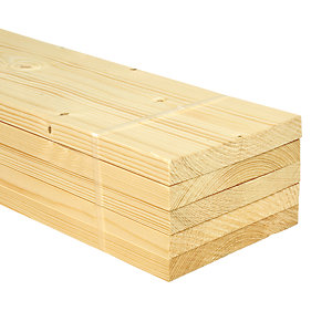 Wickes Whitewood PSE 18x144x2400mm Pack 5