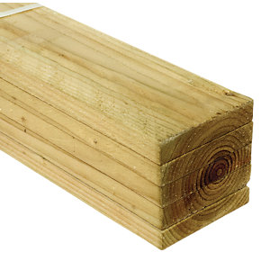 Wickes Treated Sawn 19 x 100 x 2400mm Pack 5