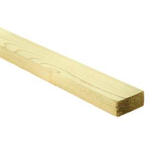 Wickes Treated Sawn 22 x 47 x 1800mm Single
