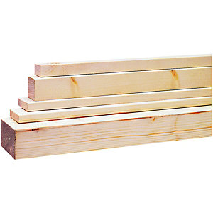 Wickes Planed All Round Softwood Timber 34x44mmx2400mm
