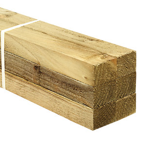 Wickes Treated Sawn 38x47x2400mm Pack 6