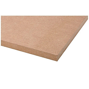 Wickes General Purpose MDF Board 18x607x2440mm