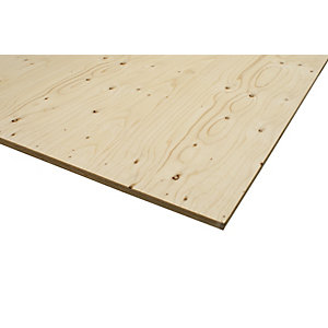 Wickes Structural Spruce Plywood CE2+ 18x1220x2440mm