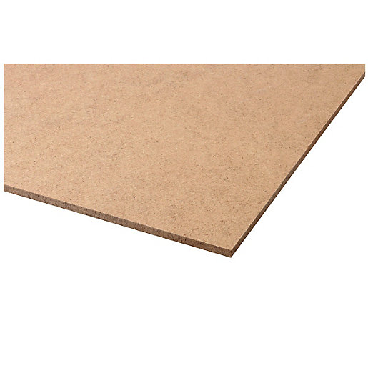 Wickes general purpose hardboard 3 x 1220 x 2440mm for Fire resistant house siding material hardboard