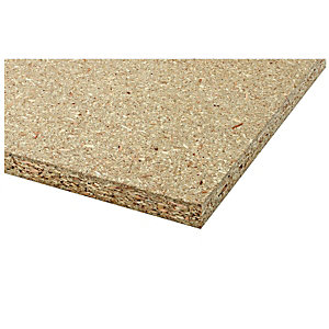 Wickes General Purpose Chipboard 18x606x1220mm
