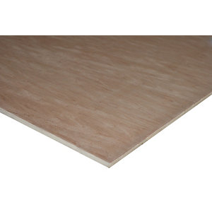 Wickes Non Structural Hardwood Plywood 9 x 607 x 1220mm