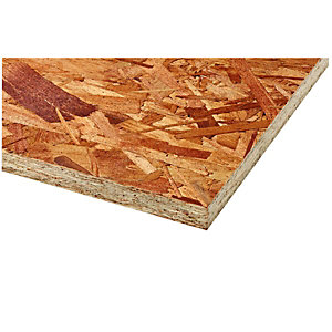 Wickes General Purpose OSB2 Board 11 x 607 x 2440mm