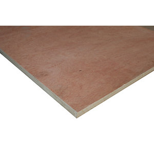 Wickes Non Structural Hardwood Plywood 18 x 606 x 1220mm