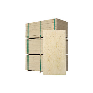 Wickes Structural Spruce Plywood 9x1220x2440mm