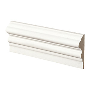 Wickes Pre Primed MDF Dado Rail 18 x 58 x 2400mm