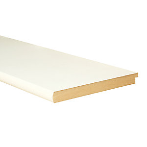 Wickes Primed Bullnose MDF Window Board 22 x 219 x 2100m