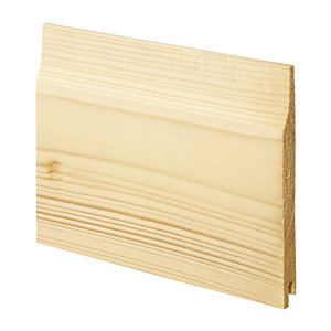 Wickes Softwood Shiplap Cladding 12x121x1800mm Single