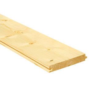 Wickes PTG Floorboards 18x121x2400mm Single