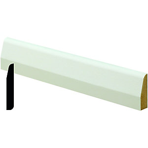 Wickes Pre Primed MDF Chamfered Architrave 14x44x2400mm