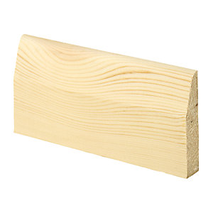 Wickes Chamfered Pine Architrave 15x69x2100mm Sng