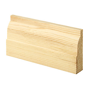 Wickes Ovolo Pine Architrave 20.5x69x2100mm Pack 5
