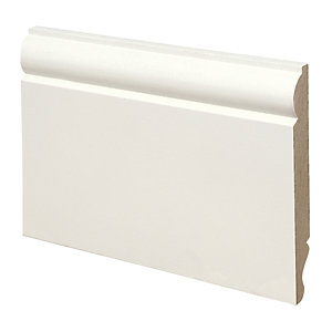 Wickes Dual Purpose Torus/Ogee MDF Skirting 18 x 144 x 3600mm Pack 2
