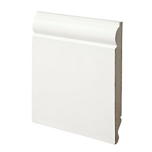 Wickes Dual Purpose Torus/Ogee MDF Skirting 18x169x3600mm Pack 2