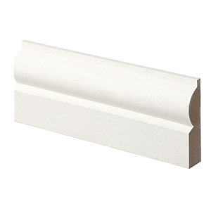 Wickes Torus MDF Architrave 14.5x57x2100mm Sng