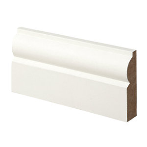 Wickes Torus MDF Architrave 18x69x2100mm Pack 5