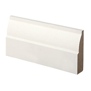 Wickes Ovolo MDF Architrave 18x69x2100mm Pack 5
