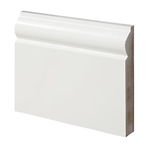 Wickes Torus Fully Finished Skirting 18x119x2400mm Pack 4