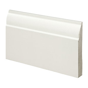 Wickes Ovolo Fully Finished Skirting 18x119x3600mm Pack 2