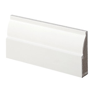 Wickes Ovolo Fully Finished Architrave 18x69x2100mm PK5