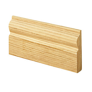 Wickes Torus Oak Veneer Architrave 15 x 69 x 2100mm Pack 5