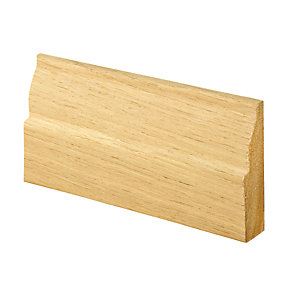 Wickes Ovolo Oak Veneer Architrave 18x69x2100mm Pack 5