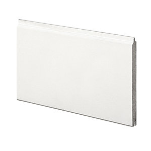 Wickes Pre-Primed MDF Cladding 12x94x900mm Single