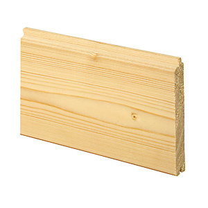 Wickes General Purpose Spruce Cladding 14x94x3000mm Single