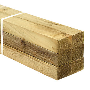 Wickes Treated Sawn 38x47x1800mm Pack 6