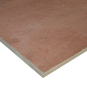 Wickes Marine Plywood 18x1220x2440mm