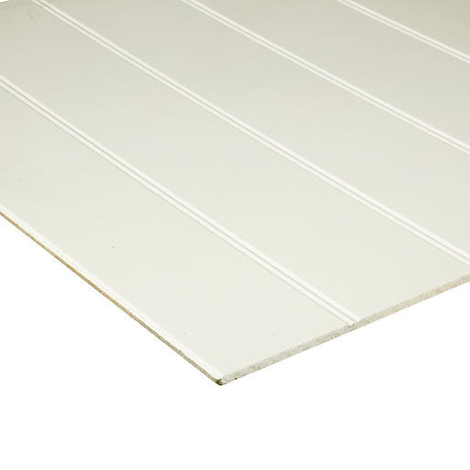Tongue And Groove B And Q: Wickes MDF Primed Beaded Panel 6 X 607 X 1829mm