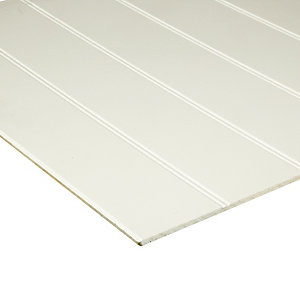 Wickes MDF Primed Beaded Panel 6x607x1829mm