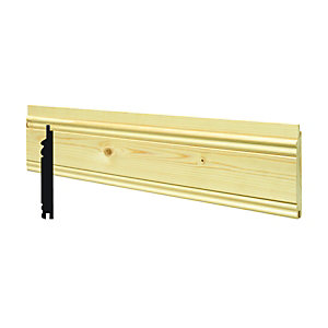 Wickes Softwood Timber Heritage Cladding 12x94x2400mm