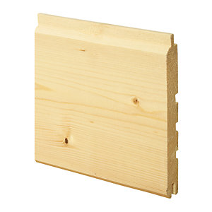 Wickes Treated Softwood Exterior Cladding 18x144x2400mm
